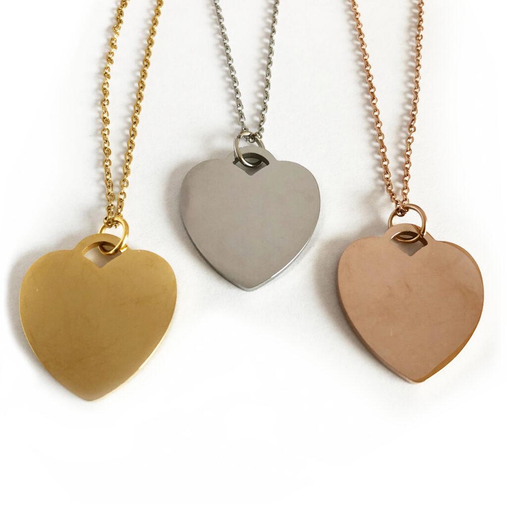 Love of my Life szív alakú nyaklánc